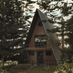 Living in an A-frame home